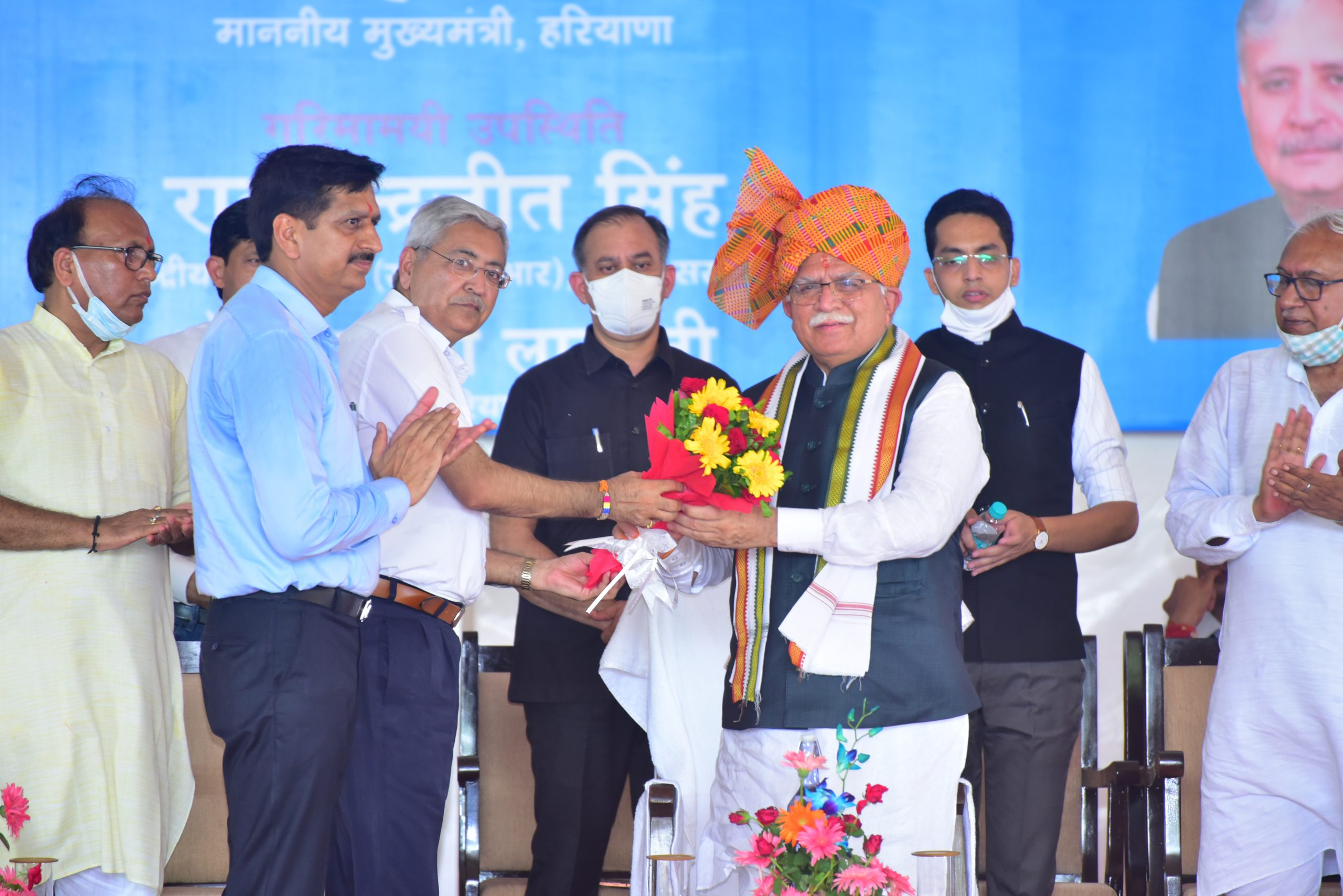 Hon'ble CM Welcomed by Vice-Chancellor of the University