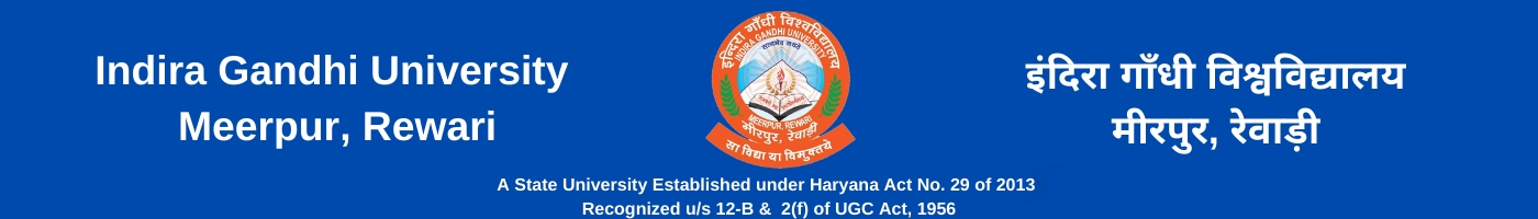 Indira Gandhi University